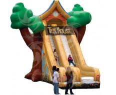 Tree House Slide