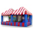 Midway Carnival Game Tent