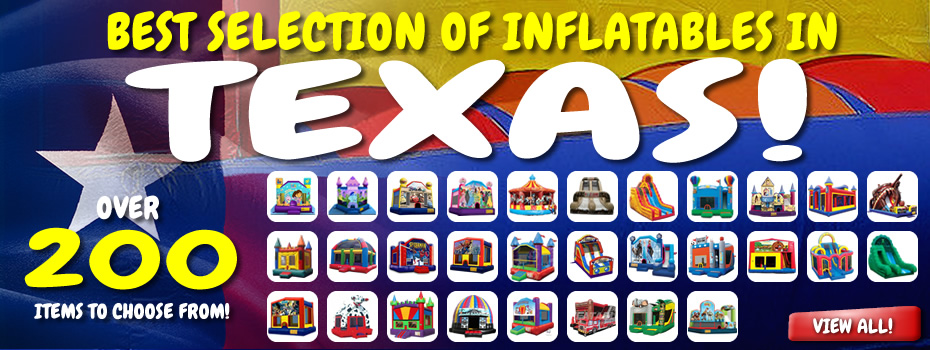 Best Selection of Inflatables in North Texas