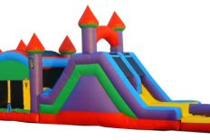 56ft Triple Play Obstacle w/Pool