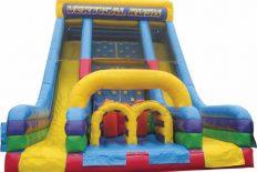 Vertical Rush Obstacle Slide