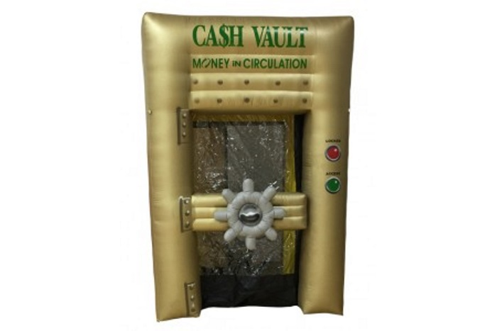 Inflatable Money Blowing Machine Rental Dallas Tx Cash