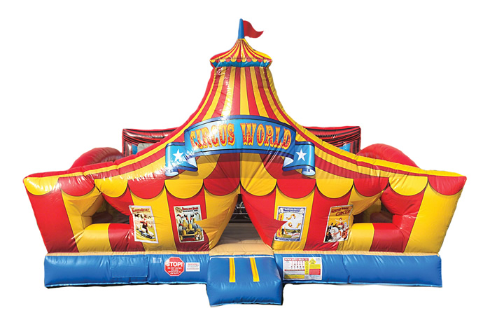 The circus never goes out of style, which is why the theme is perfect for birthday parties. Here are a few circus theme birthday party ideas to make the day a memorable one. A circus bounce house is always a good idea!