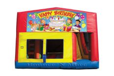 Happy Birthday Obstacle Combo
