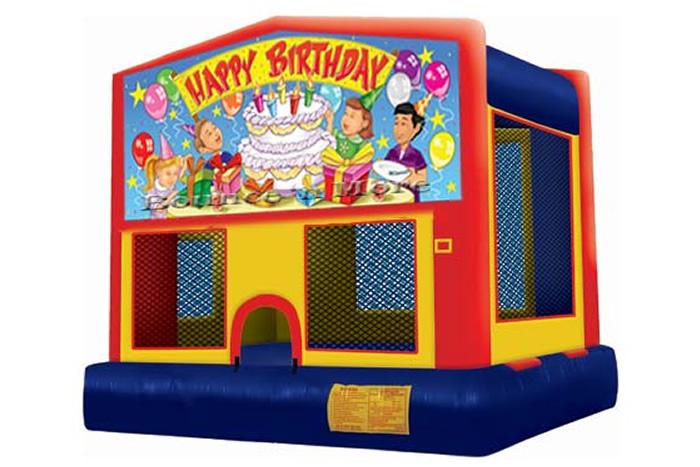 Happy Birthday Bounce House Rental Dallas Tx