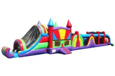 65' Rainbow Obstacle Course