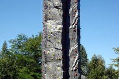 LED Rock Climbing Wall - 4 Lane