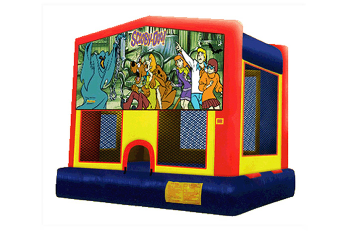 Scooby Doo Bounce House Rental Dallas Tx