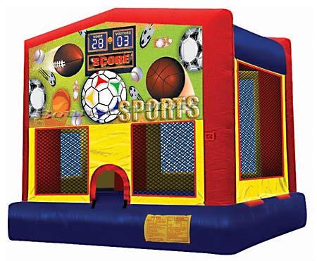 Sports Theme Bounce House Rental Dallas Tx