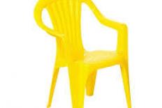 Kids Chairs (Plastic) - Yellow