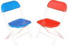 Kids Chairs (Folding) - Red