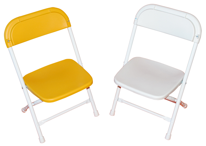white folding kids chair rentals dallas tx