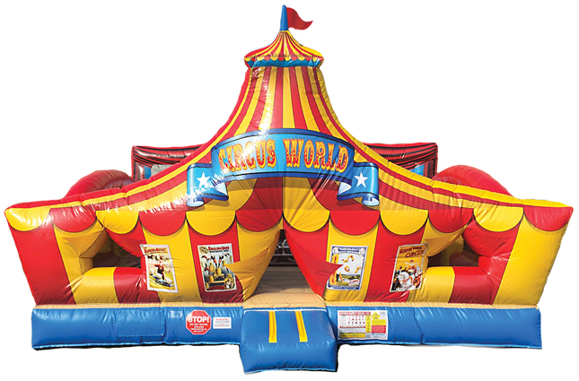 Toddler Combo Circus Carnival Playland Party Rental Dallas Tx