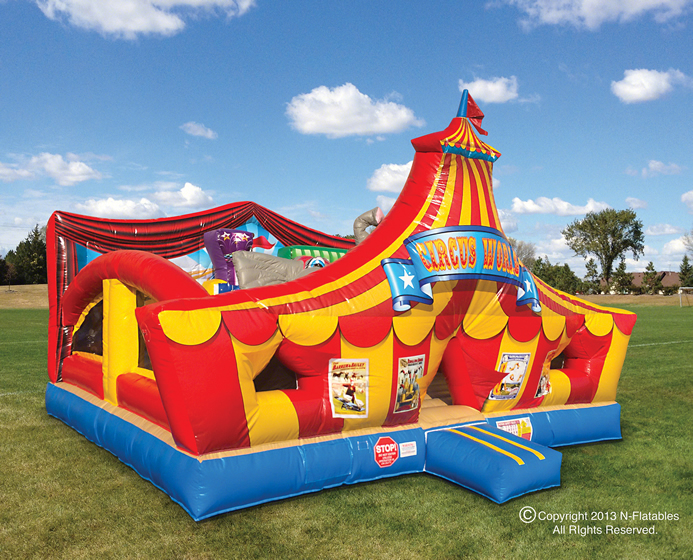 Toddler combo circus carnival playland party rental dallas tx for Party house for sale