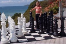 Giant Chess with 37