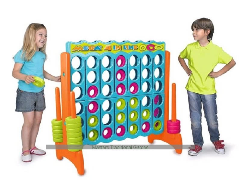 Giant Connect 4 Vibrant Color Game Rental Dallas