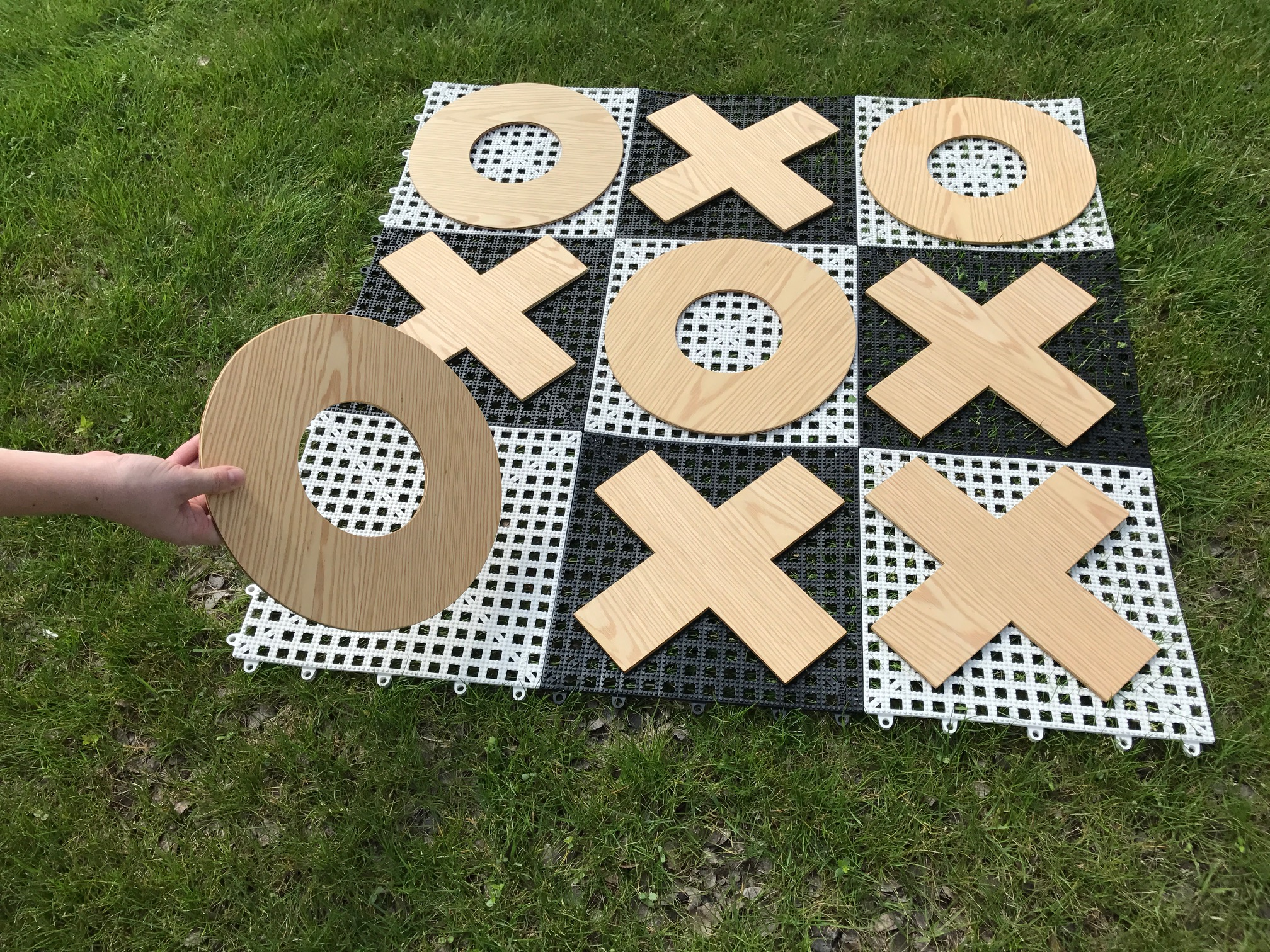 Giant Tic Tac Toe Game Rental Dallas Tx