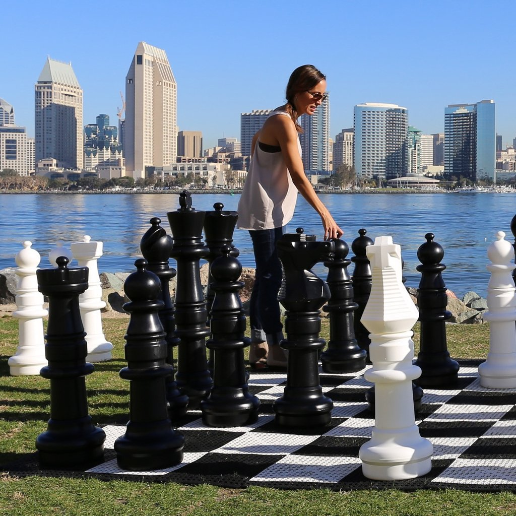 Giant Chess With 37 Quot King Game Rental Dallas