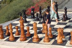 Giant Chess/Checker - Nylon Board