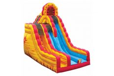 Two Lane Fire N Ice Slide
