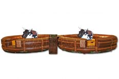Double Mechanical Bull - Rodeo Ride Off