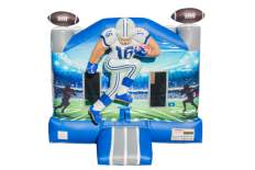 3D Football Bounce House