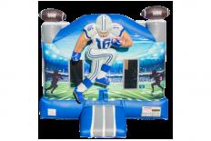 3D Football Bounce House