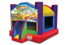 Wacky Luau Bounce House