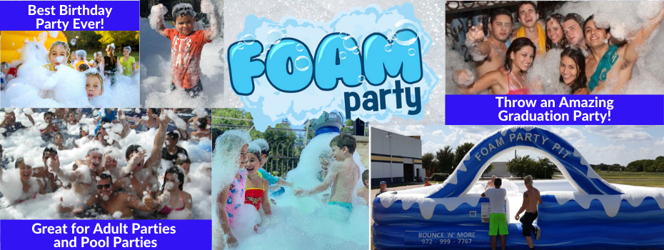 Foam Party Rental