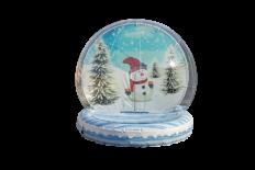 Giant Human Snow Globe
